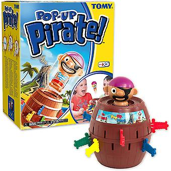 Tomy pop up pirate classic childrens action board game