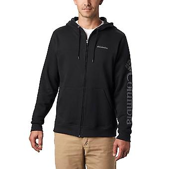 Columbia Logo Fleece FZ 1889164010   men sweatshirts