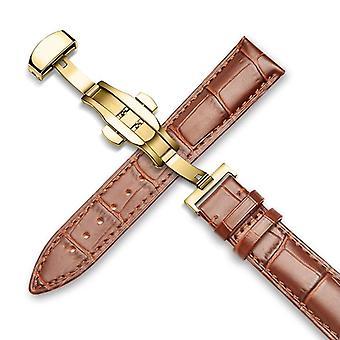 Genuine Leather Watch Band ( Set 4)