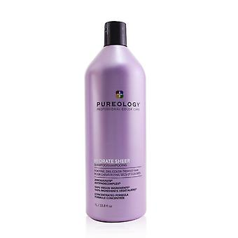 Pureology Hydrate Sheer Shampoo (For Fine, Dry, Color-Treated Hair) 1000ml/33.8oz