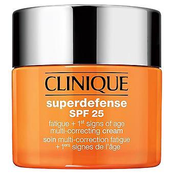 Clinique Superdefense-Creme für Mehrfachkorrekturen spf25 1 2 50 ml