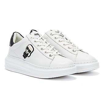 Karl Lagerfeld Ikonic Kapri Lo Lace Womens White Trainers