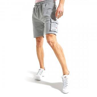 Ellesse Sica Cargo Grijs Jersey Shorts