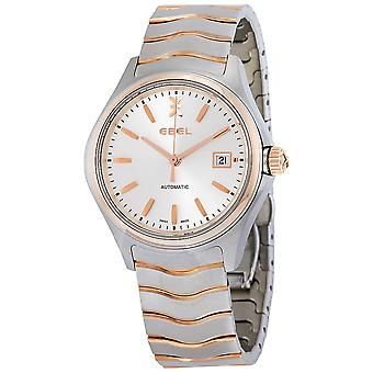 Ebel Wave Automatic Silver Dial  Men's Watch 1216204