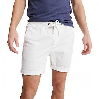 Superdry Sunscorched Chino Shorts Blanco 01C