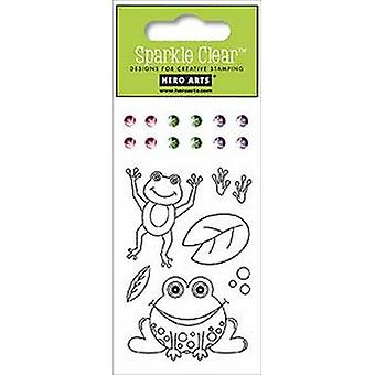 Hero Arts Froggy Clear Stamp