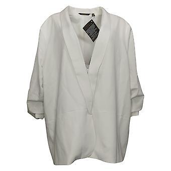 IMAN Global Chic Women's Reg Everyday Blazer Blanc 740717
