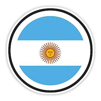 ملصق هدية: علم الأرجنتين