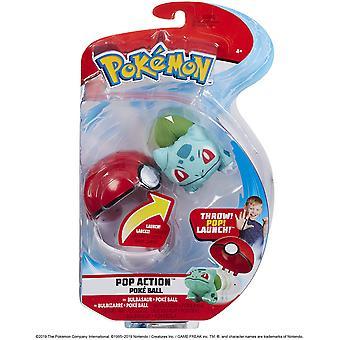 Pokemon Pop Action Poke Ball - Bulbasaur