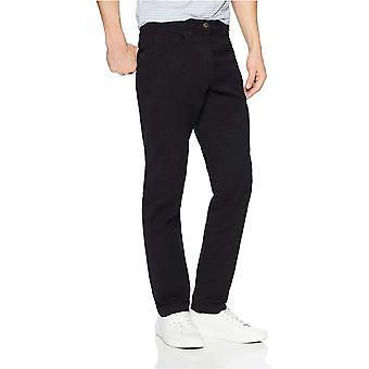 Goodthreads Miesten Slim-Fit 5-Pocket Chino Pant, Musta, 42W x 32L
