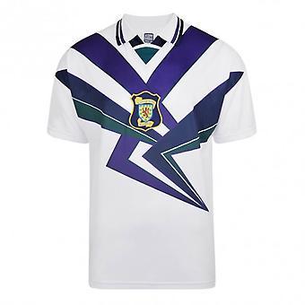 Score Draw Scotland 1996 Away Retro Football Shirt