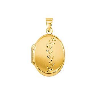 kjærlighet medaljong anheng kvinne oro_giallo - 2013565