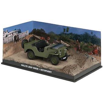 Willys Jeep (1953) modelo fundido a troquel coches de James Bond Octopussy