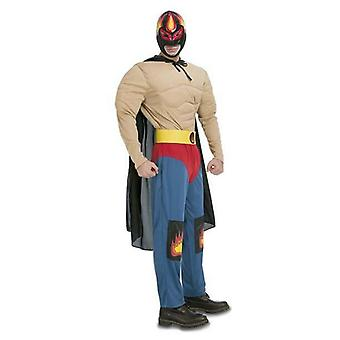 Yetişkinler için Kostüm Huracán Ramírez