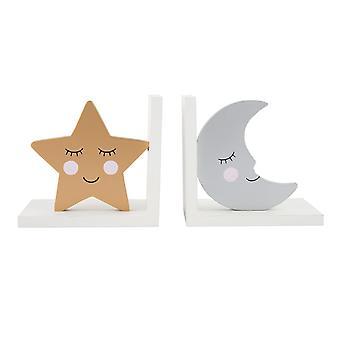 Sass y Belle dulces sueños de estrellas & la luna sujetalibros