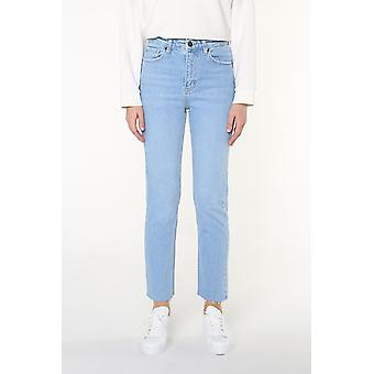 Denim Pants With Pocket