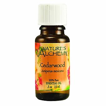 Natures Alchemy Pure Essential Oil Cedarwood, 0.5 Oz