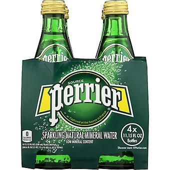 Perrier Water Sprkl Regular 4Pk, Case of 6 X 44 Oz