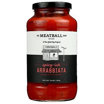 Meatball Sauce Arrabiatta Spicy, Case of 6 X 24 Oz
