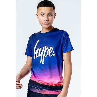 Hype Childrens/Kids Midnight Beach T-paita