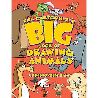 クリストファー・ハートによる動物の描き物の漫画家の大きな本