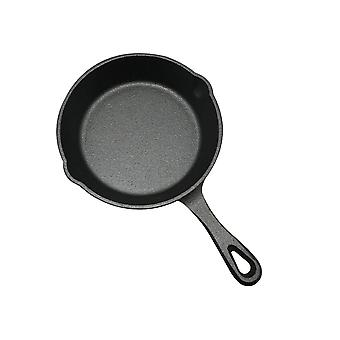 3 Sizes Set Cast Iron Frying Pan Skillet Oven Cooking Griddle Non Stick Grill