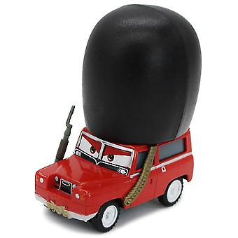 Cars British High Hat Soldier Guard Red Racing Alloy Simulation Model Toy