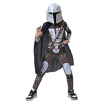 Hunter Costume Kids Cosplay Jumpsuit Child Zip Up Outfit(130cm)
