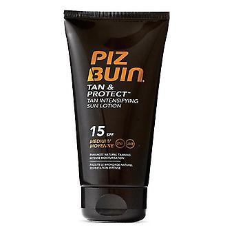 Sun Lotion Tan & Protect Piz Buin Spf 15 (150 ml)