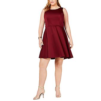 City Studio | Trendy Plus Size A-Line Dress