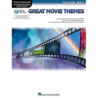 Grandes temas de la película: Instrumental P-A Saxofón Tenor () Saxofón Tenor