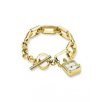 Reloj mujer Rosefield Watch Rosefield Studio SWGSG-O52 - Correa de acero dorada