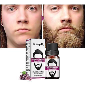 גברים מעצבים שמן שפם צמיחת שיער זקן שיער טיפוח גבות