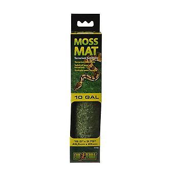 """Exo-Terra Moss Mat Terrarium Substrate - 10 Gallon - (19,5""""L x 9,75""""W)"""