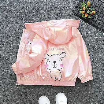 Glänzende Jacke Baby Kindermantel