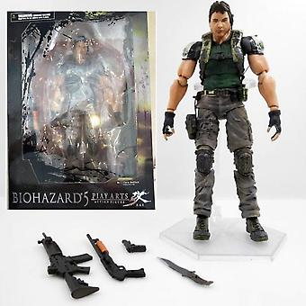 Hywell Resident Evil Series Chris Redfield Super Hands-on