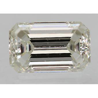 معتمد 0.30 قيراط F VS1 الزمرد تعزيز الماس الطبيعي فضفاضة 4.97x3.08m 2EX