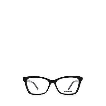 Gafas balenciaga BB0186O negras femeninas