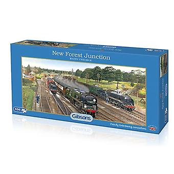 New Forest Junction 636pc Jigsaw by Gibsons