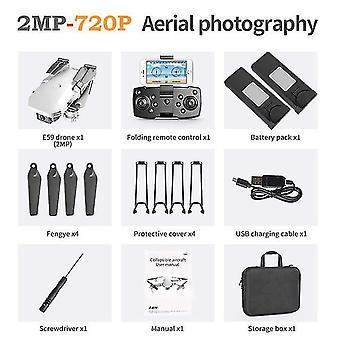 2021 Rc drón fotograp uav profesional quadrocopter e59 4k kamerával rögzített magasságú összecsukható