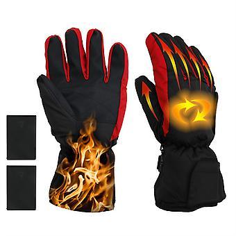 Mimigo Electric Heated Gloves, Winter Battery Power Heating Gloves/ski Bike Motorcycle Warm Hand Accessories For Man Women