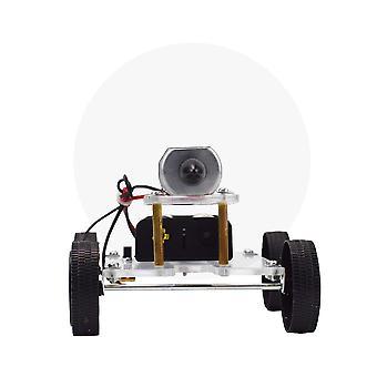 Wind Power Car Diy Electronic Kit Tehnologie Stiinta Jucarii Educational Kituri pentru copii Experiment Creative Inventie Jucărie