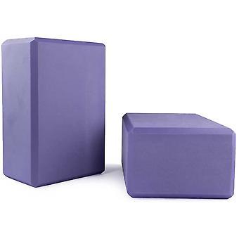 Blocs de yoga Pack de 2-violet