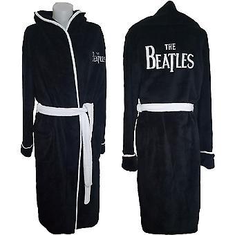 The beatles unisex bathrobe: drop t logo