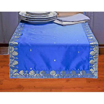 Bleu - Hand Crafted Table Runner (Inde)