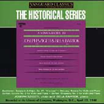 Bartok/Beethoven/Debussy - A Sonata Recital by Joseph Szigeti & B La Bart K [CD] USA import