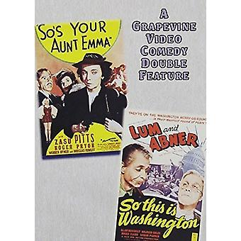 Pour votre tante Emma (1942) /So ce est Washington (import USA [DVD]