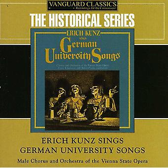 Erich Kunz - Erich Kunz Sings German University Songs [CD] USA import