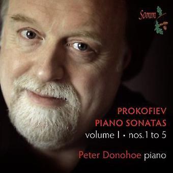 Prokofiev - Prokofiev: Piano Sonatas, Vol. 1 [CD] USA import