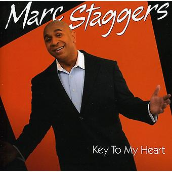 Marc Staggers - Key to My Heart [CD] USA import